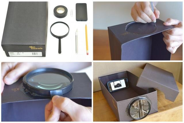 Как сделать проектор своими руками в домашних условиях из лупы 96