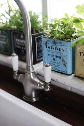 Огород на кухне: примеры, которые обязательно надо увидеть 10
