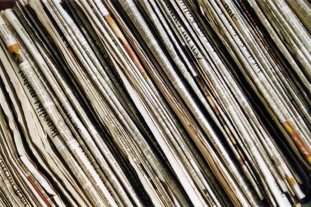 Как использовать старые газеты: 14 способов 0