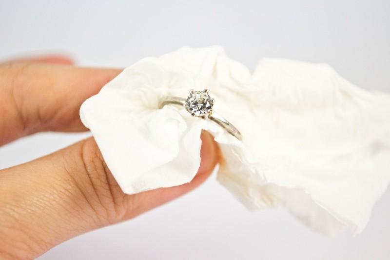Как чистить белое золото в домашних условиях