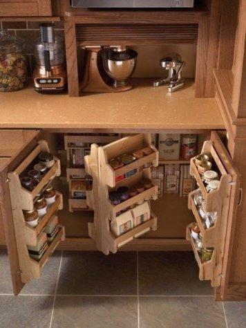 Как сэкономить место на кухне? 8 лайфхаков 4