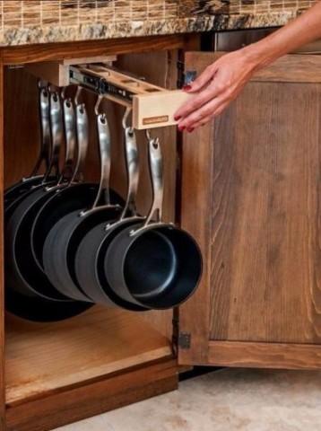 Как сэкономить место на кухне? 8 лайфхаков 6