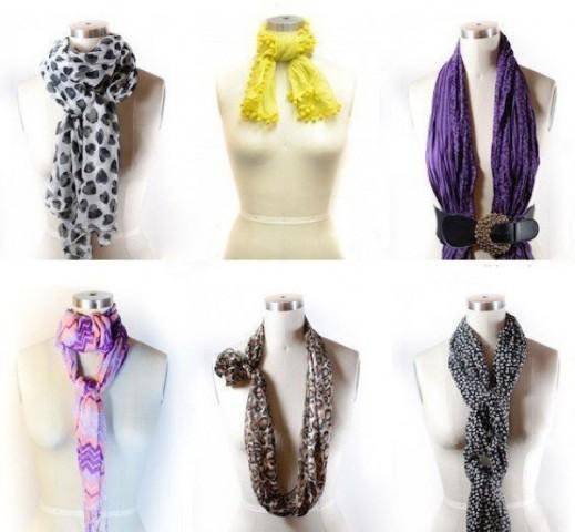 42 способа стильно завязать шарф 2
