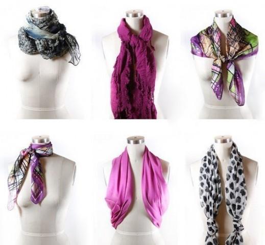 42 способа стильно завязать шарф 6
