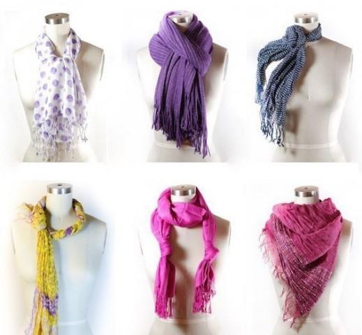 42 способа стильно завязать шарф 5