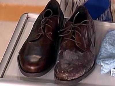 Как избавиться от реагентов на кожаной обуви? 0