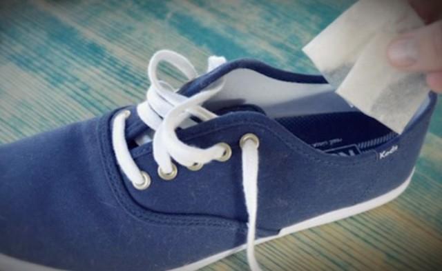 Еще один совет, чтобы устранить запах обуви! 0