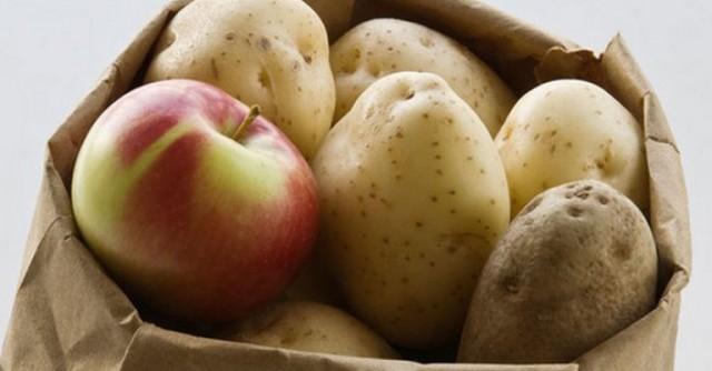 Чтобы картофель не прорастал! 0