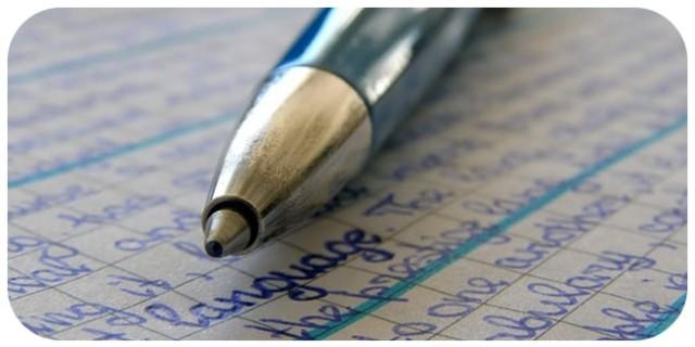 Как удалить с бумаги запись шариковой ручки? 0