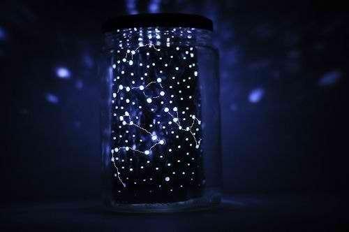 Cветильник в виде звездного неба своими руками