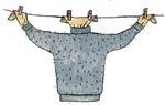 Лучший способ сушки шерстяного свитера