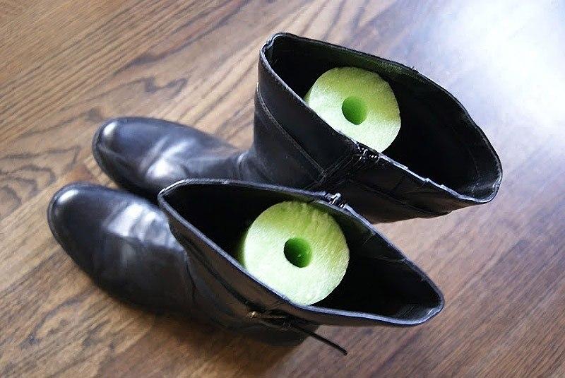 Чтобы обувь стояла ровно