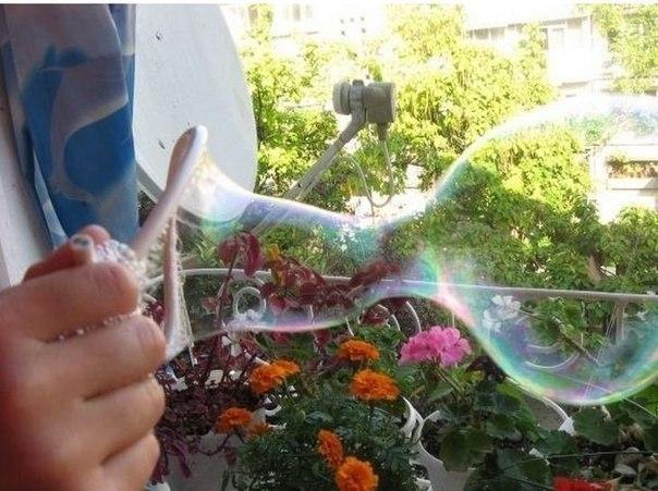 Крепкие мыльные пузыри своими руками