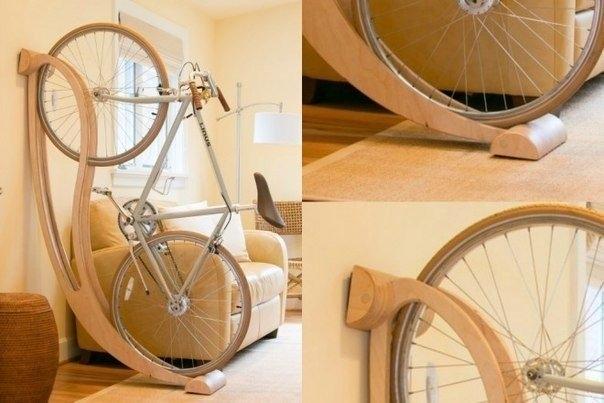 Как правильно и красиво хранить велосипед