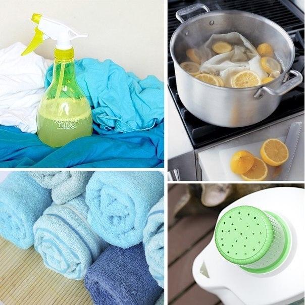 Если не можете отстирать пятна, лимоны вам помогут!