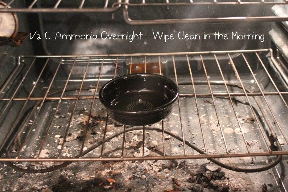 Чистка духовки за ночь