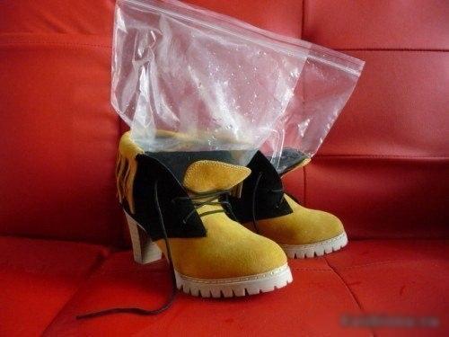 Как сделать обувь больше на один размер 80
