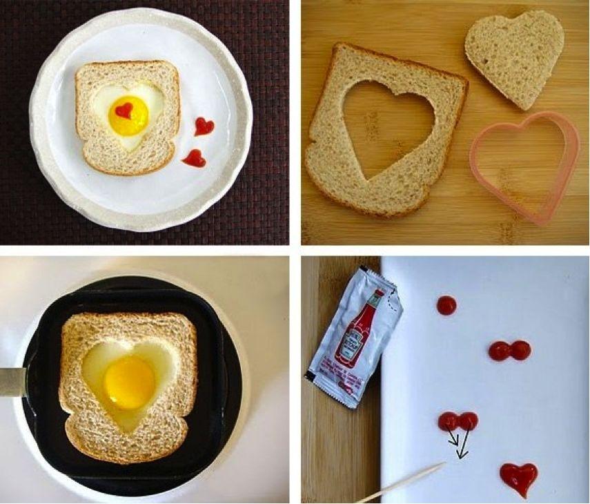 Идея для романтического завтрака