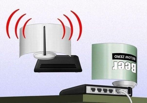 Как усилить сигнала Wi-Fi