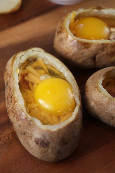 Отличные и вкусные идеи для приготовления яичницы.