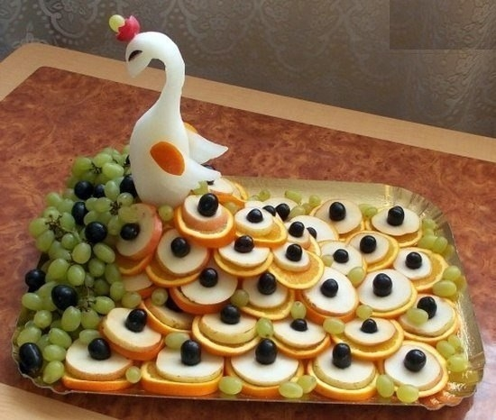 Как подать фруктовую нарезку