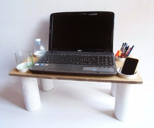 Мастерим столик для ноутбука