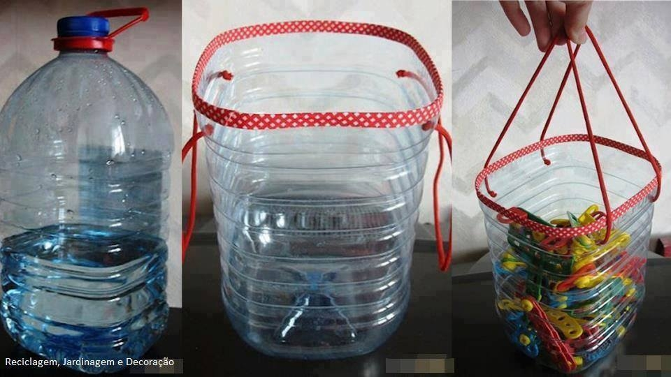 Поделки с пластиковых бутылок своими руками для дома