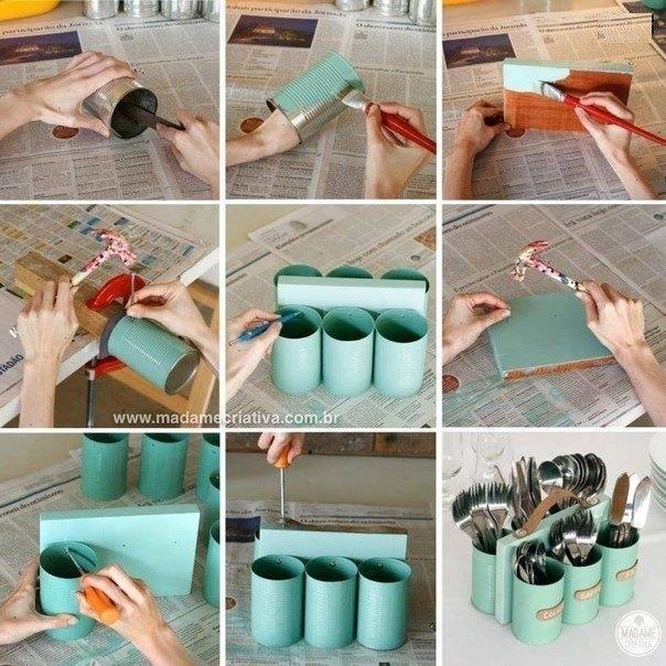 Как сделать кухонный органайзер