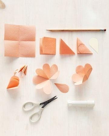 Как сделать объемную открытку из бумаги с цветами своими руками