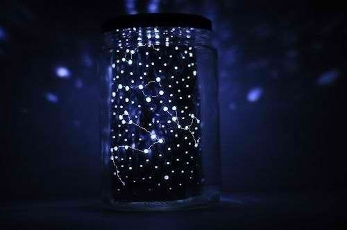 Звездное небо как сделать своими руками ночник