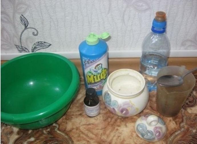 Как сделать пузыри из мыла