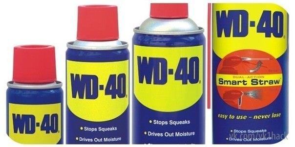 Wd 40 в домашних условиях