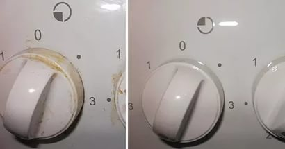 Как очистить ручки у газовой плиты (2 Способа). Простой и экономный способ! 0