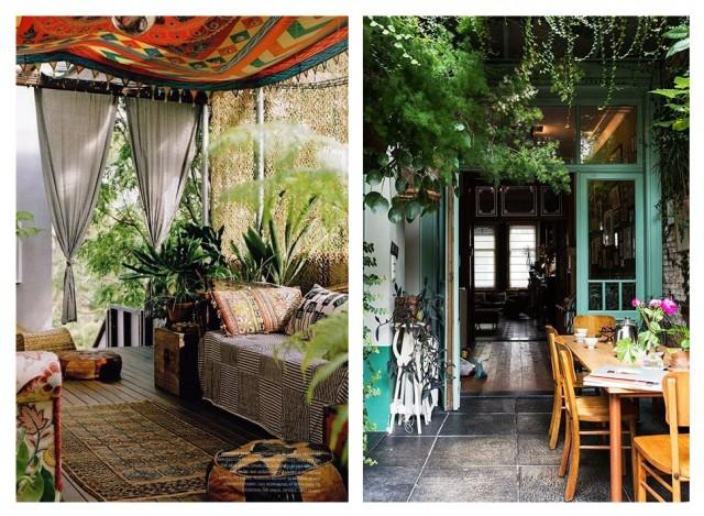 Бохо-стиль: как украсить дом с помощью растений 4