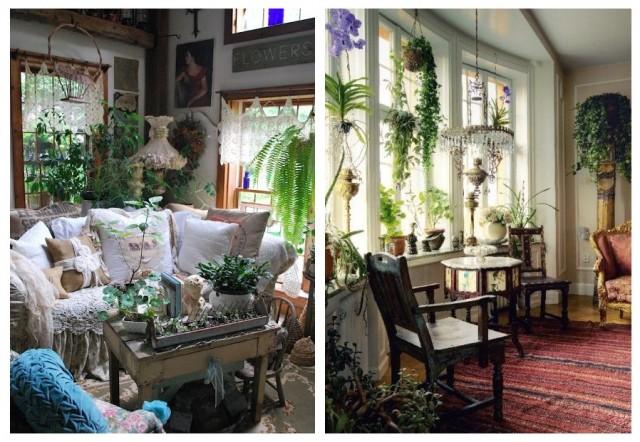 Бохо-стиль: как украсить дом с помощью растений 7