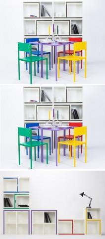 Классные примеры складной мебели 7