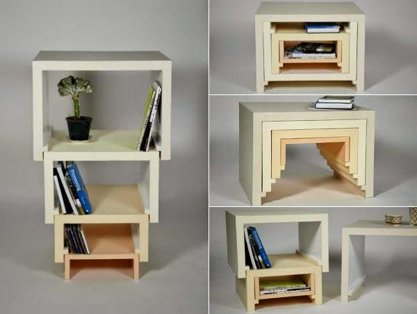 Классные примеры складной мебели 0