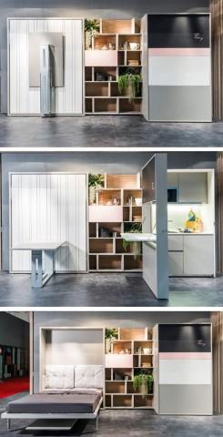 Классные примеры складной мебели 6