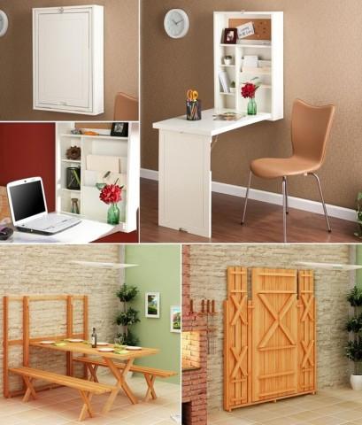 Классные примеры складной мебели 4