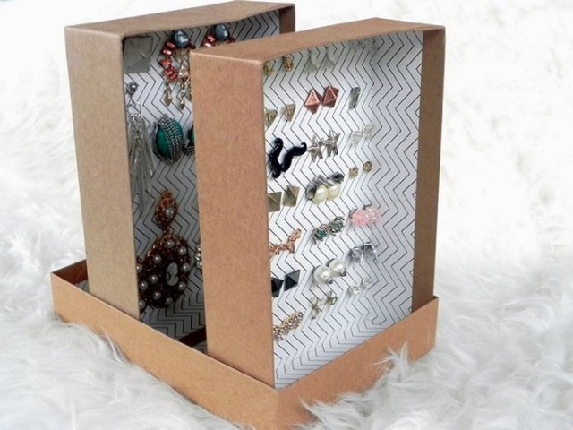 Хранение в картонных коробках — стильное и экономичное решение 2