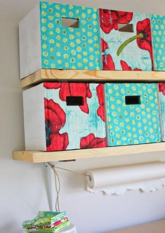 Хранение в картонных коробках — стильное и экономичное решение 6
