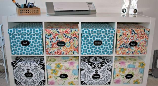 Хранение в картонных коробках — стильное и экономичное решение 0