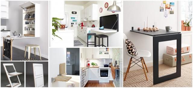 Классные примеры складной мебели 11