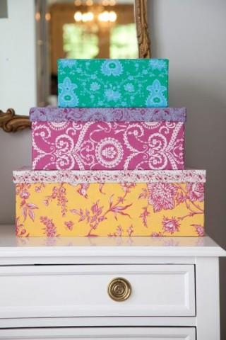 Хранение в картонных коробках — стильное и экономичное решение 3
