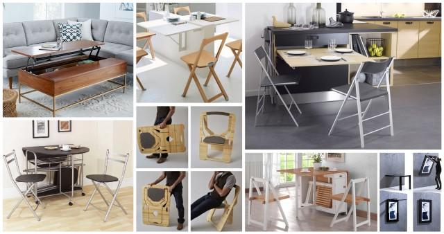 Классные примеры складной мебели 13