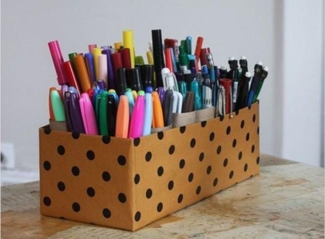 Хранение в картонных коробках — стильное и экономичное решение 10