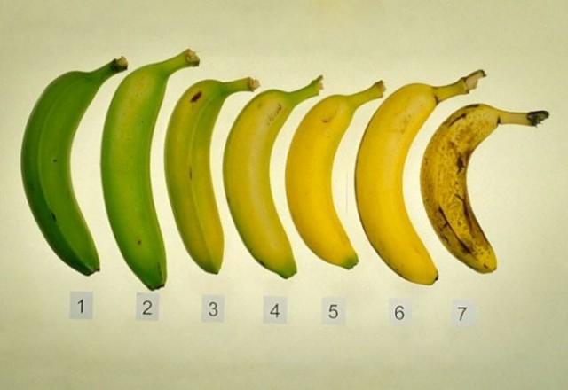 Какие бананы нужно кушать - зеленые или с темными точками 0