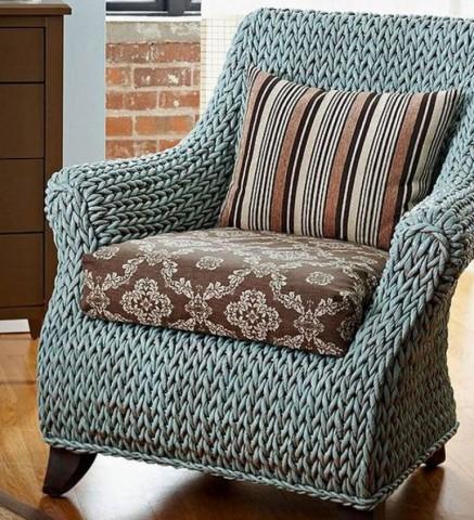 Как можно обновить старое кресло? 0