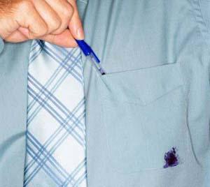Как убрать пятно чернил с одежды? 0