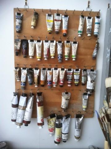 Совет для художников! Как хранить краску в тюбиках? 0